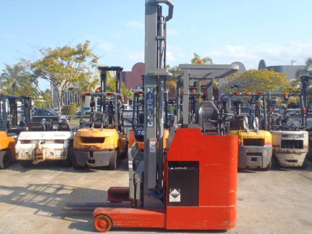 F3490: Nichiyu Reach Truck 5Mtr Side Shift Only 3,381 Hours