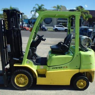 HYSTER 2.5 TON 2017 – SIDE SHIFT LPG – 3.35 MTR MAST