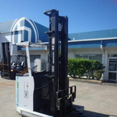F3808: TCM – LATE MODEL LOW HOUR REACH TRUCK – 2014 - 7 MTR LIFT HEIGHT.