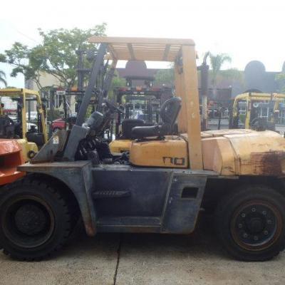 F3714: 2010 TCM 8 Ton Forklift – 6.5M Mast